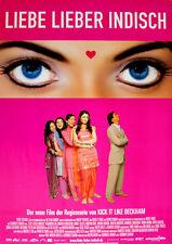 Liebe lieber indisch ORIGINAL A 1 Kinoplakat Bollywood