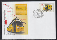 F 01 ) beautiful PS Cover 2013 - Opening ADAC Postbus Line  New postal vehicle