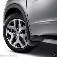 Genuine OEM Honda HR-V Splash Guard Set  2016 - 2018 HRV Mud Guards