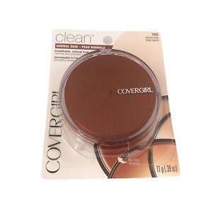 CoverGirl Clean Pressed Powder Foundation Natural Beige 140
