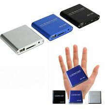 Mini Full HD 1080P USB Media Player With AV/HDMI/SD/MMC MKV AVI Blue-ray Movies