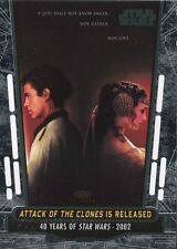 Star Wars 40th Anniversary Base Card #86 Attack of the Clones is Released