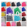x 10 x CLOSED END No.3 NYLON ZIPS *24 COLOURS & 10 LENGTHS ZIPPER SEWING 10 ZIPS