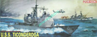 DRAGON 1003 1/350 Scale Model U.S.S. Ticonderoga 2019 NEW warship model