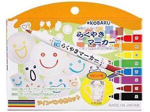 Ceramics Marker Vivid 8 Color Set Kobaru Rakuyaki Marker
