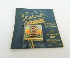 More details for rare vintage 1950s kiddicraft minature player's navy cut cigarettes tobacciana