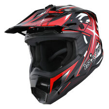 1Storm Adult Motocross Helmet Motorcross ATV MX BMX Dirt Bike Racing Red