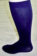 Women's Wide Knee High Socks Navy Size 6-9 Pk of 2 New