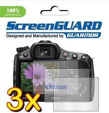 3x Anti-Glare Screen Protector Sony Alpha A57 A65 A77 SLT-A57V SLT-A65V SLT-A77V