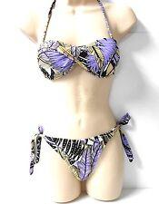 Bikini completi in poliammide per il mare e la piscina da donna taglia M