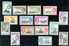 FALKLAND ISLANDS DEPENDENCIES 1954 DEFINITIVES G26/40 MNH