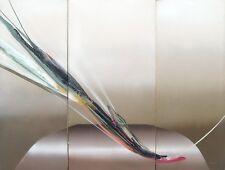 "Elba Alvarez ""Lilia Platform"" triptych Original signed 3pc Painting MAKE OFFER!"