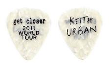Keith Urban White Pearl Guitar Pick - 2011 Get Closer Tour