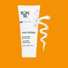 Yonka Vital Defense Cream Creme Anti Oxidant 50 Ml / 1.7 Oz New Yon-Ka Retail