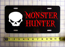MONSTER HUNTER LICENSE PLATE / CAR TAG
