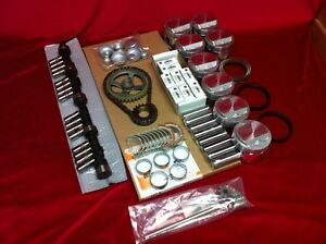 Buick 401 Master engine kit 1959 60 61 pistons rings bearings gaskets timing+