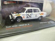 SEAT 1430 - 1800 GR.4 de RALLYE de 1977 ~  NEUF