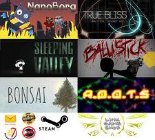 True Bliss+Sleeping Valley+Bonsai+R.O.O.T.S+Ballistick+Nano PC Digital STEAM KEY
