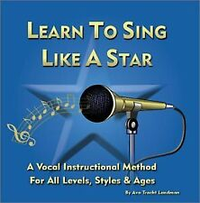 AVA TRACHT LANDMAN - Learn To Sing Like A Star - CD - **Excellent Condition**