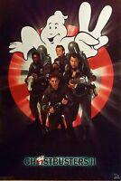VINTAGE SEALED ORIGINAL GHOSTBUSTERS II 2 POSTER 1989 BILL MURRAY DAN AYKROYD
