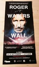 """ROGER WATERS THE WALL Original Concert Movie Poster 12x27"""" PINK FLOYD"""
