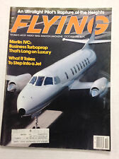 Flying Magazine Merlin IVC October 1982 122016R
