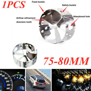 75-80mm The Fourth Generation Car Turbo Fuel Gas Saver Oil Accelerator Booster