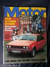 July Motor Monthly Transportation Magazines
