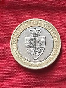 Ultra Rare 7 Mint Errors 2013 £2 Two Pound Coin Anniversary Of The Golden Guinea