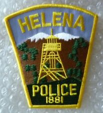 Patch Helena US Police Patch(104 mm X 94 mm New*)