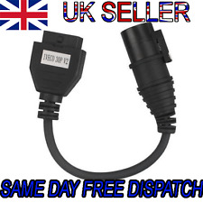 Iveco Truck 30Pin To OBD/OBD2 Adapter Cable Leads For Autocom CDP Delphi DS150e