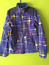 Columbia Blue Fleece Jacket Boy Girl Kids Youth 10 12 Coat