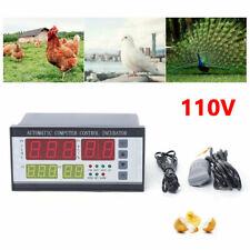 Auto Temp Control Thermostat Xm 18 Automatic Digital Incubator Egg Hatcher 110v
