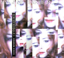 Mylène Farmer Maxi CD Optimistique-moi (Dance Remixes) - France (EX+/M)