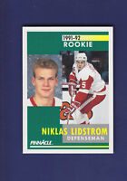 Nicklas Lidstrom RC HOF 1991-92 Pnnacle Hockey #320
