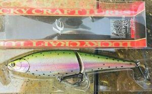 "Lucky Craft 6 3/4"" Slow Sinking Fishing Lure ESG LL Pointer 170 Lazer Rainbow"