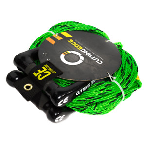 CUTTING EDGE DOUBLE HANDLE WATER SKI ROPE WITH 70' MAINLINE (PART#CE6110)