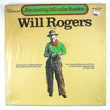 WILL ROGERS Will Rogers 1879-1935 3LP 1979 HUMOR (BOX SET/SEALED)