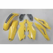 UFO Plast 5 Piece Motocross Plastic Kit Husqvarna CR 125 250 2T 2006 Yellow
