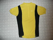 WOOL VINTAGE  RETRO CLASSIC  BIKE JERSEY  XL SHORT SLEEVE classic YELLOW BLACK