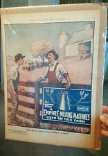 Empire Cream Separator Co Vtg Ad Country Gentleman Mag Bloomfield NJ collectible