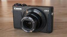 Canon PowerShot G9X Mark II Digital Camera,Black.Smallest expert compact camera
