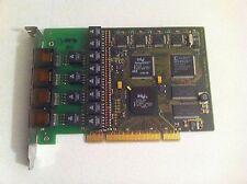 AVM C4 aktive ISDN PCI Karte 4 Ports  8 B-Kanäle  4x S0 #110