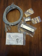 Security Anti-Theft Cables(24) with Lock Box and key for Coats Jackets Purses