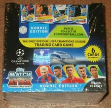 Topps Match Attax * Champions League 2016/17 **1 Display (50 Booster)** Nordic
