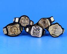 WWE Jakks Championship Belts Lot Wrestling Figure Accessory Spinner European_39