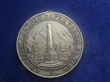 Versilberte Medaille 1902 (Tirol) Verein Andreas Hofer - Freiheitskämpf W/17/219