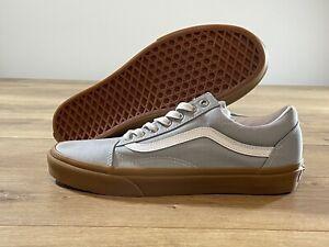 Vans UA Old Skool Skate Shoes Grey/White MN SZ 9 ( VN0A3WKT3ZC )