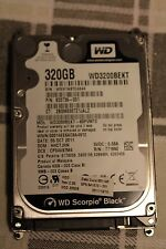 "HD 320GB HP 633739-001 Western Digital WD3200BEKT 2.5"" SATA disco fisso notebook"