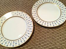 Raynaud Ceralene Limoges Viex Nyon Pair of Bread & Butter Plates